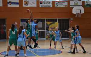 Photos U15 F contre Chateauneuf